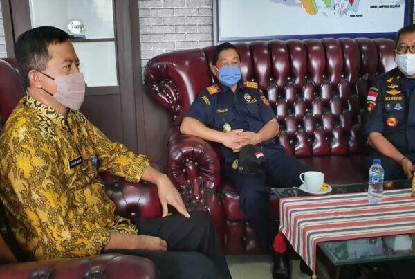 Audiensi Kepala Kanwil Ditjen Bea dan Cukai Wilayah Sumbagbar di BNN Provinsi Lampung Pasca Hani 2020
