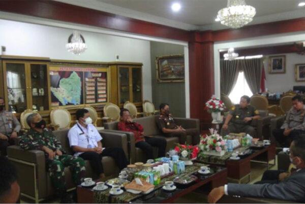 Rakor Forkompimda Provinsi Lampung Polda Lampung