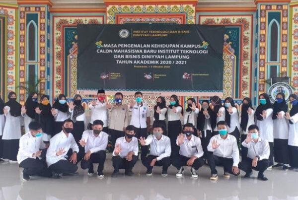 Kampanye Hidup 100 Persen Melalui Mapaling Kampus Institut Teknologi & Bisnis Diniyyah Lampung