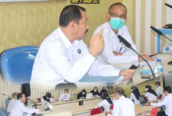Pengarahan dan Rapat Kerja Pelaksanaan Program P4GN BNN Provinsi Lampung